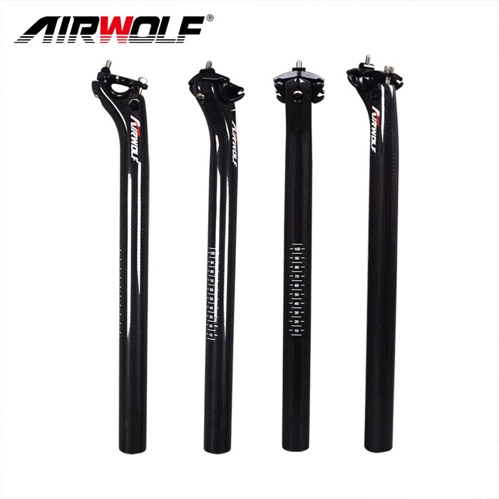 road bike MTB bicycle bike CARBON fiber 27.2 30.8 31.6 mm AERO seat post 350 400
