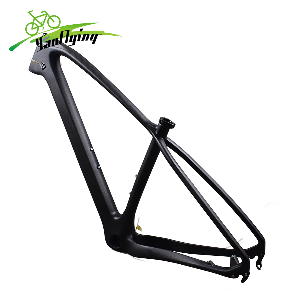 Chinese carbon fiber mountain bike frame 29er 19 3K matte mtb ...