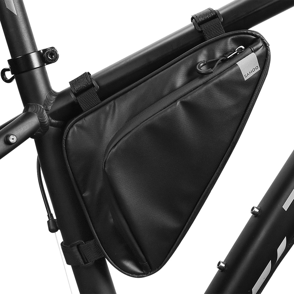 LTG Bike Bag Bicycle Cycle Front Tube Triangle Frame Storage Pack Pouch Purse