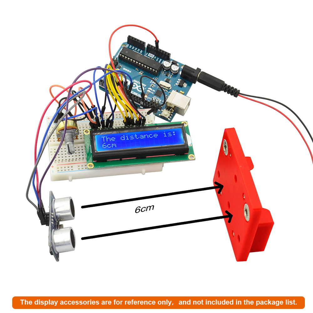 3x Hc Sr04 Ultrasonic Distance Measuring Transducer Sensor Module For Measurement Circuit Diagram Arduino Sz
