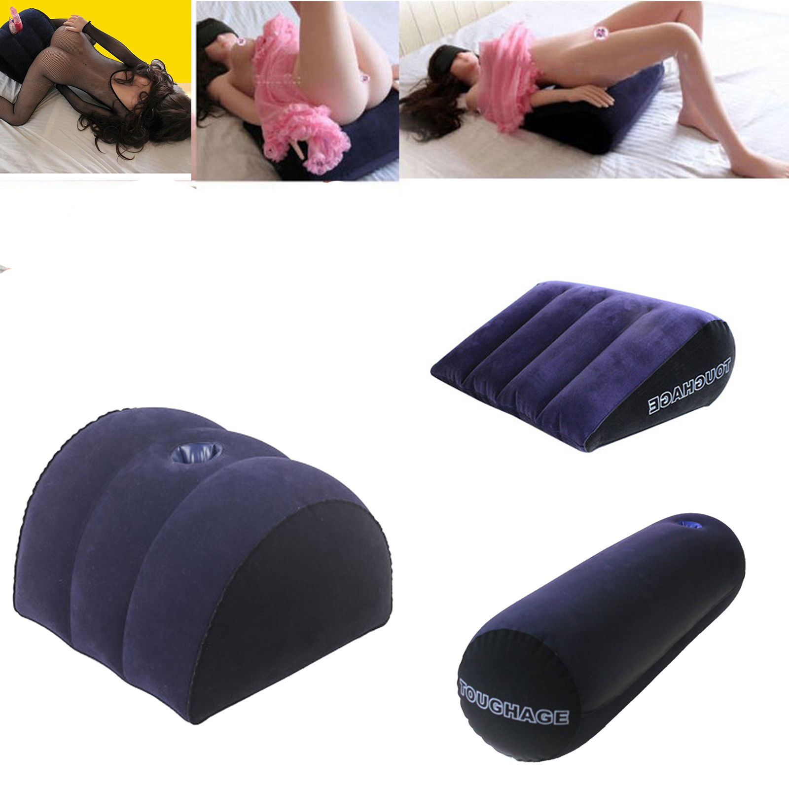 Wedge cushion for sex
