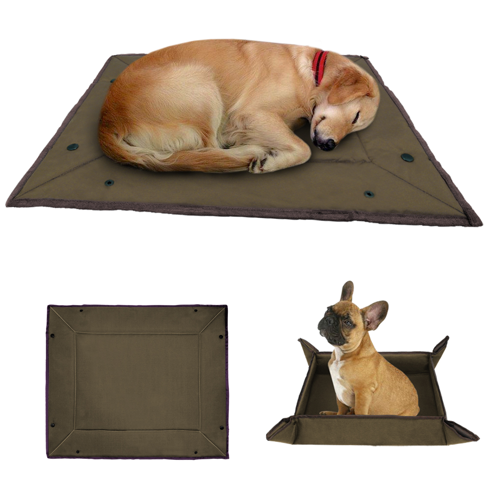 a606d00c85fb Dog Bed Mat Waterproof Cat Dog Kennel Blanket Mattress Cushion Small Large  Size