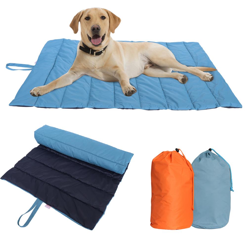 Waterproof Pet Mat Dog Cushion Blanket Portable Outdoor Kennel Sleeping Bed Pad Ebay