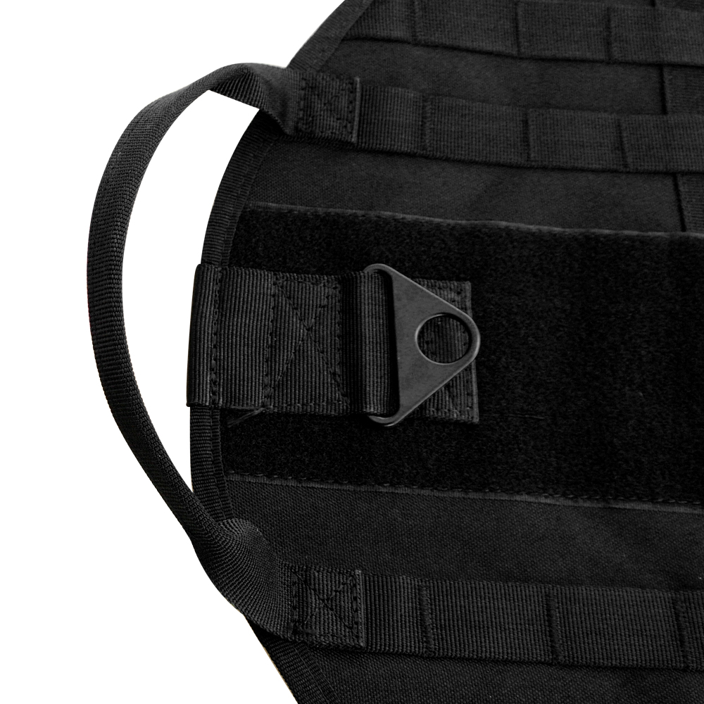 Military Molle Dog Harness K9 Tactical Vest With 3 Bags