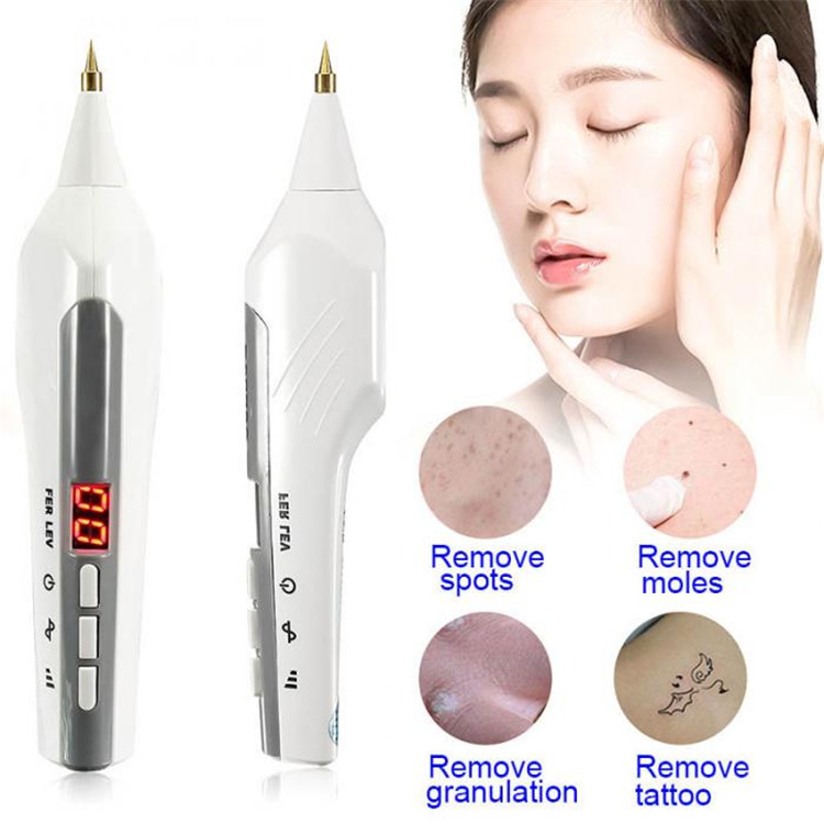 Details About Skin Freckle Mole Warts Spots Remover Plasma Pen Tattoo Dark Spot Removal