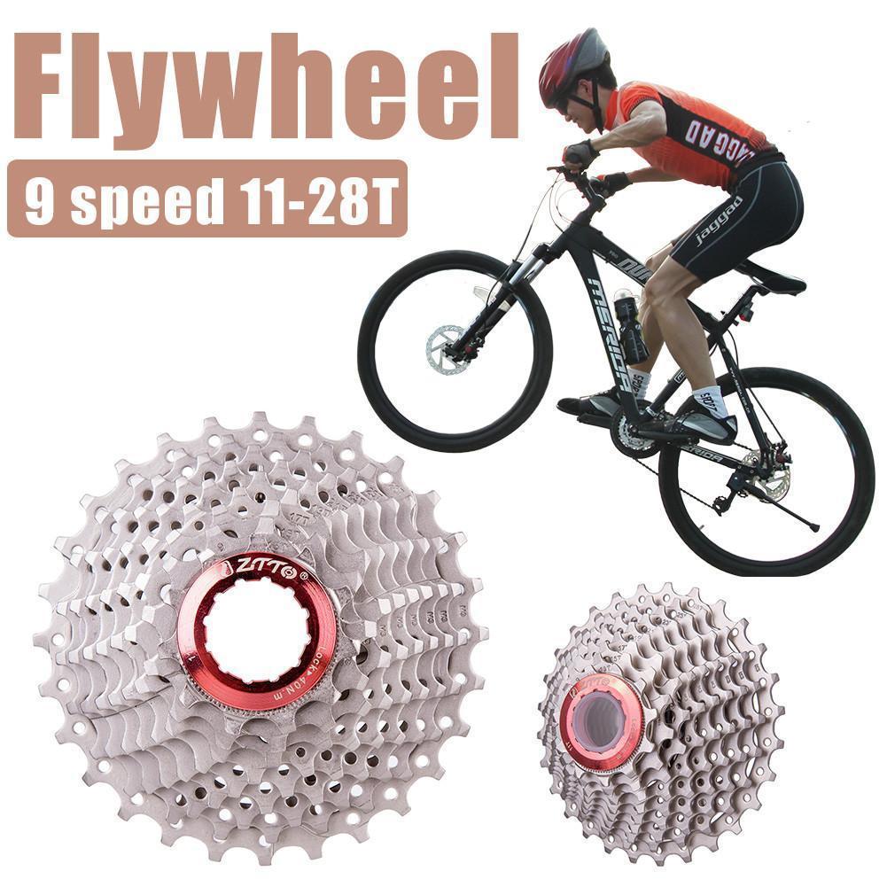9-level Cassette CS-HG50 9-Speed Cassette 11-28T For MTB Road Bike Rear Gear
