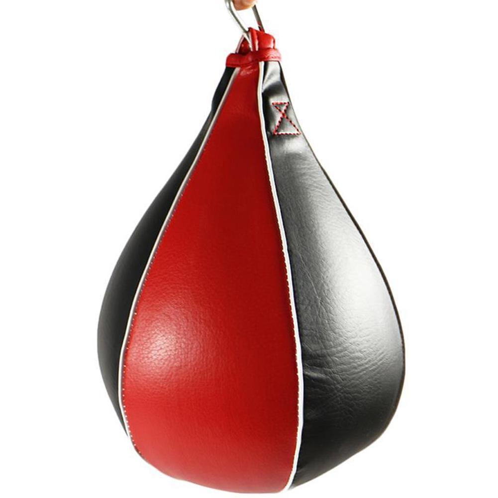 Details about Hang Ball Boxing PU Speed Punch Bag Punching Training Gym MMA Swivel Speedball