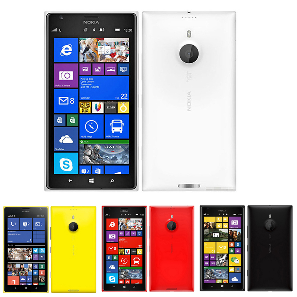 c536fbfbf77462 Details about Original Nokia Lumia 1520 4G LTE GSM Unlocked 32GB 20MP  Windows Mobile Phone