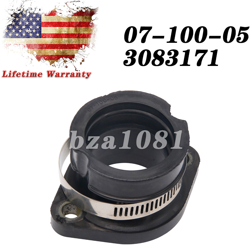 Carburetor Flange Carb Intake Boot Fit For Polaris Indy Trail 3084325 3083171