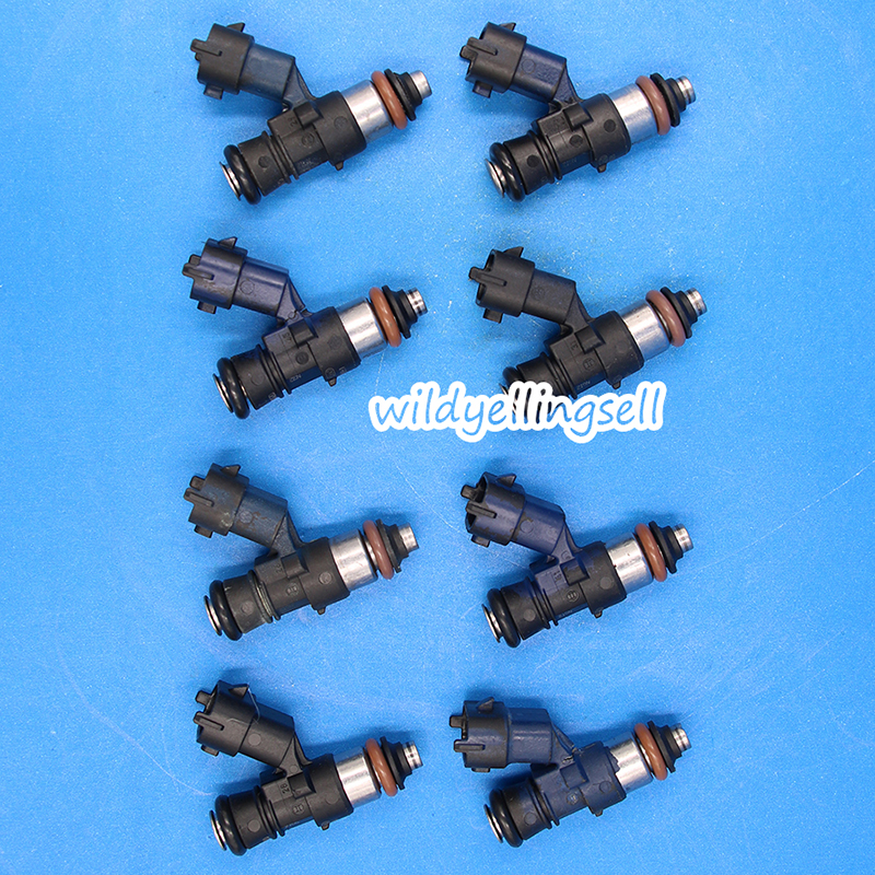 8x 210lb 2200cc Fuel Injectors For Bosch LS3 LS7 Corvette C6 Z06 EV14 0280158821