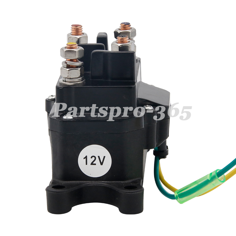 Universal Atv Winch Contactor Solenoid Relay Switch For Warn 63070 62135 74900