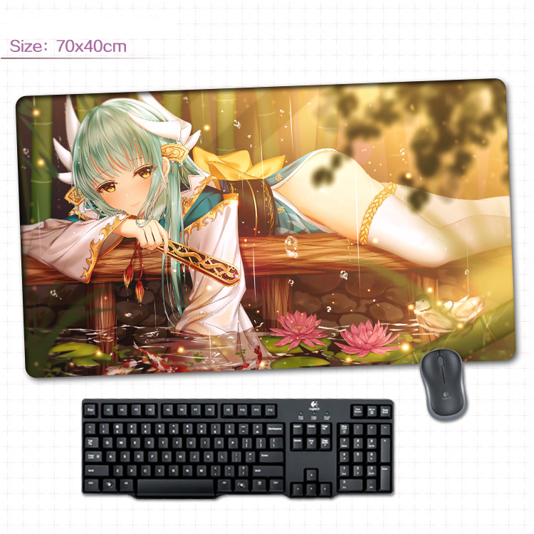 Anime fate//grand order jeanne d/'arc Mat Game mat Mouse Pad Cosplay 40*70cm