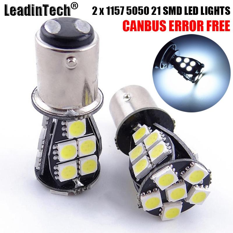 2x Red T25,1157,22,SMD LED Light Bulb Tail Break Stop Turn Signal Light UKstocks