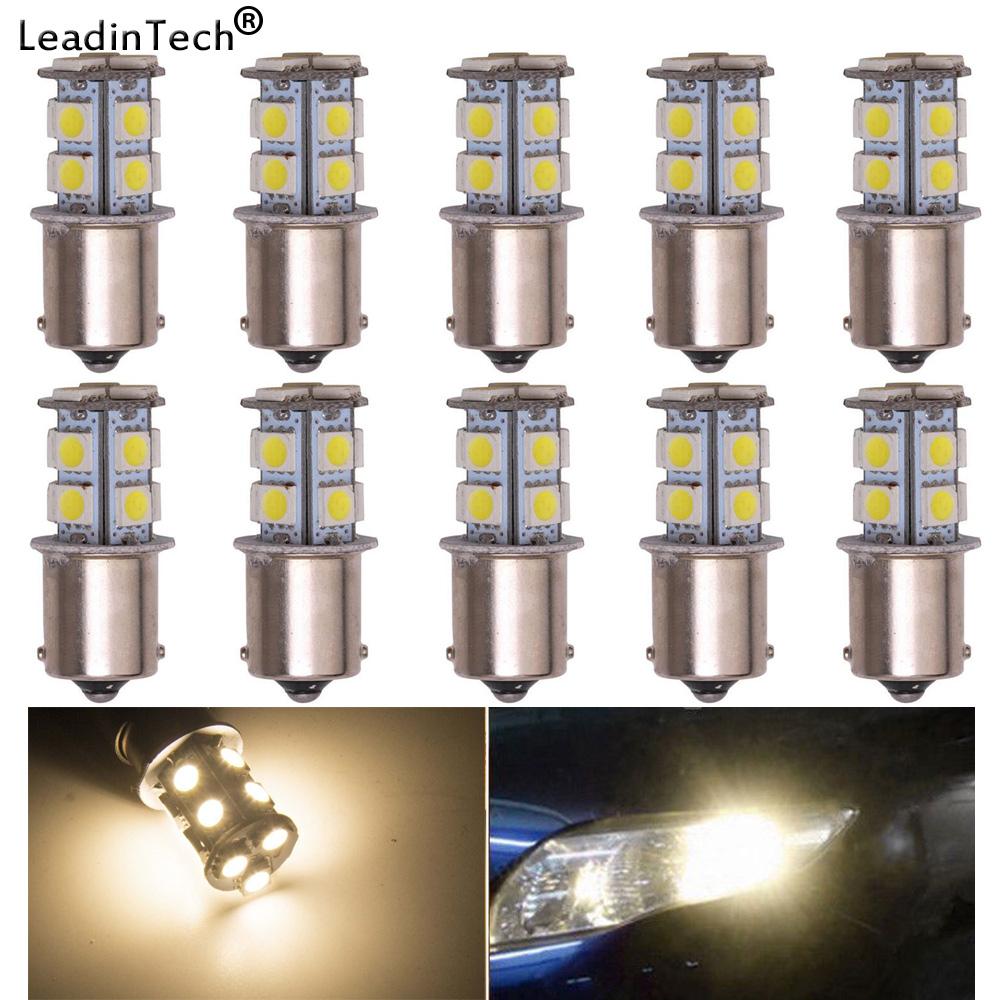 10Pcs 1156 BA15S 1093 18 SMD 5050 LED Replacement Bulb Light 12V 1073 1141