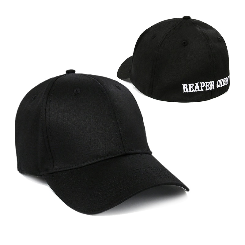 e547886d619 Adult Biker TV Show SOA Sons of Anarchy Reaper Crew Fitted Baseball Cap Hat