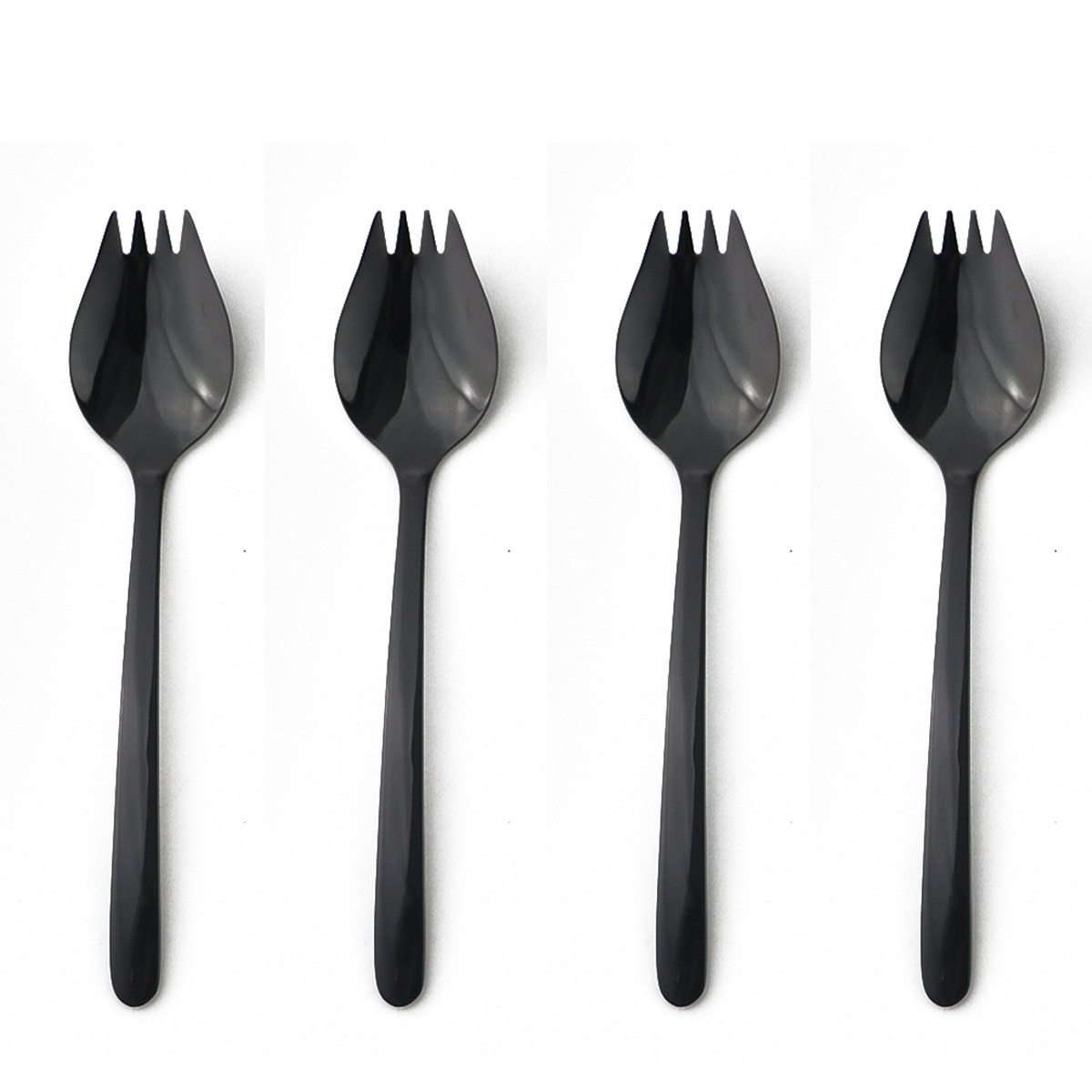 Perfect Stainless Steel Spork New Fork Cutlery Utensil Combo Outdoor Picnic