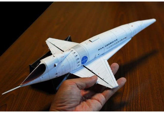 A Space Odyssey Orion Ⅲ Space Clipper DIY Handcraft Toy 3D Paper Model Kit 2001