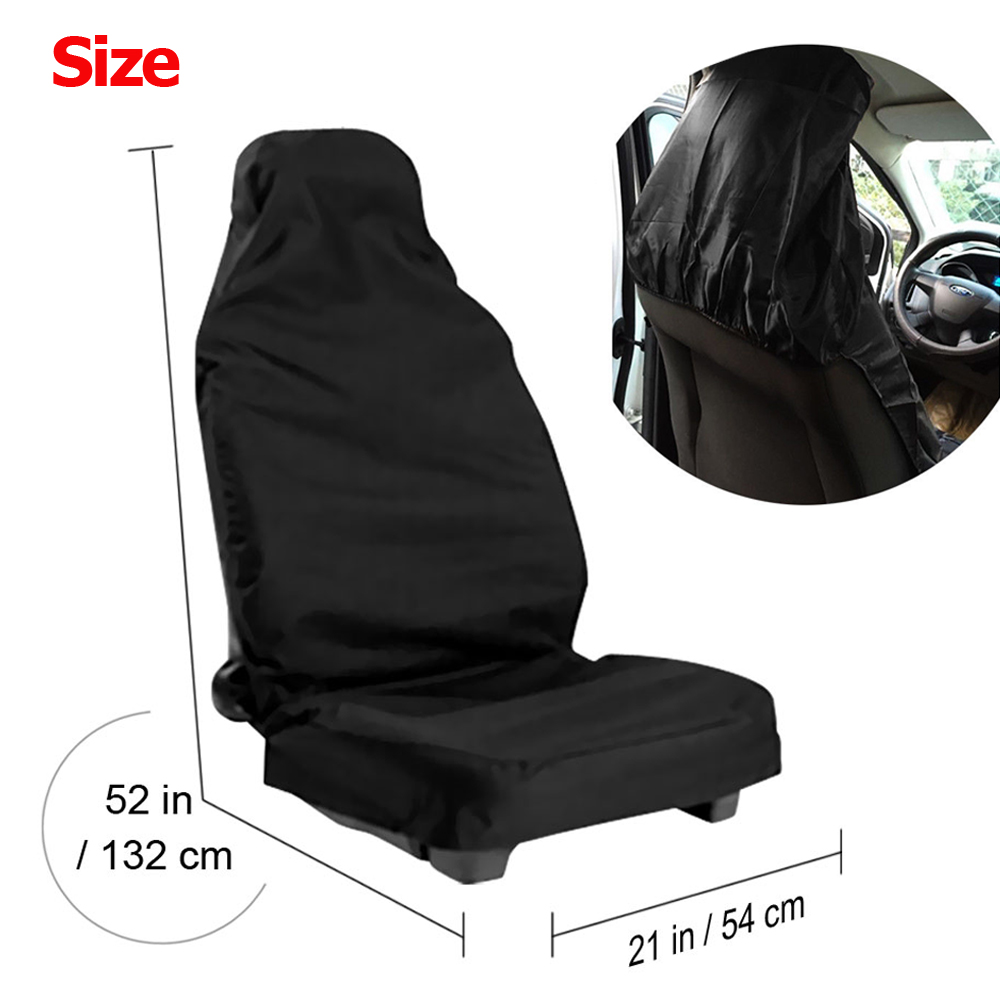 Dog Seat Covers For Trucks >> 2X Universal Car Front Seat Covers Waterproof for SUV Van Auto Pet Dog Washable   eBay