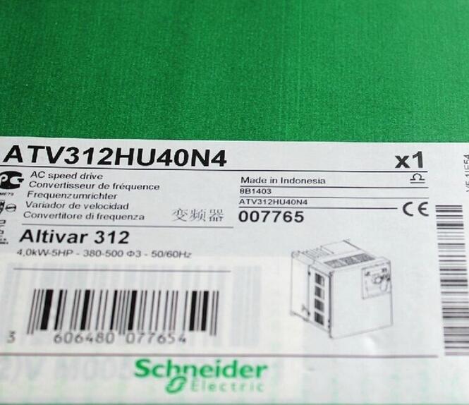 1pcs Schneider Inverter ATV312HU40N4