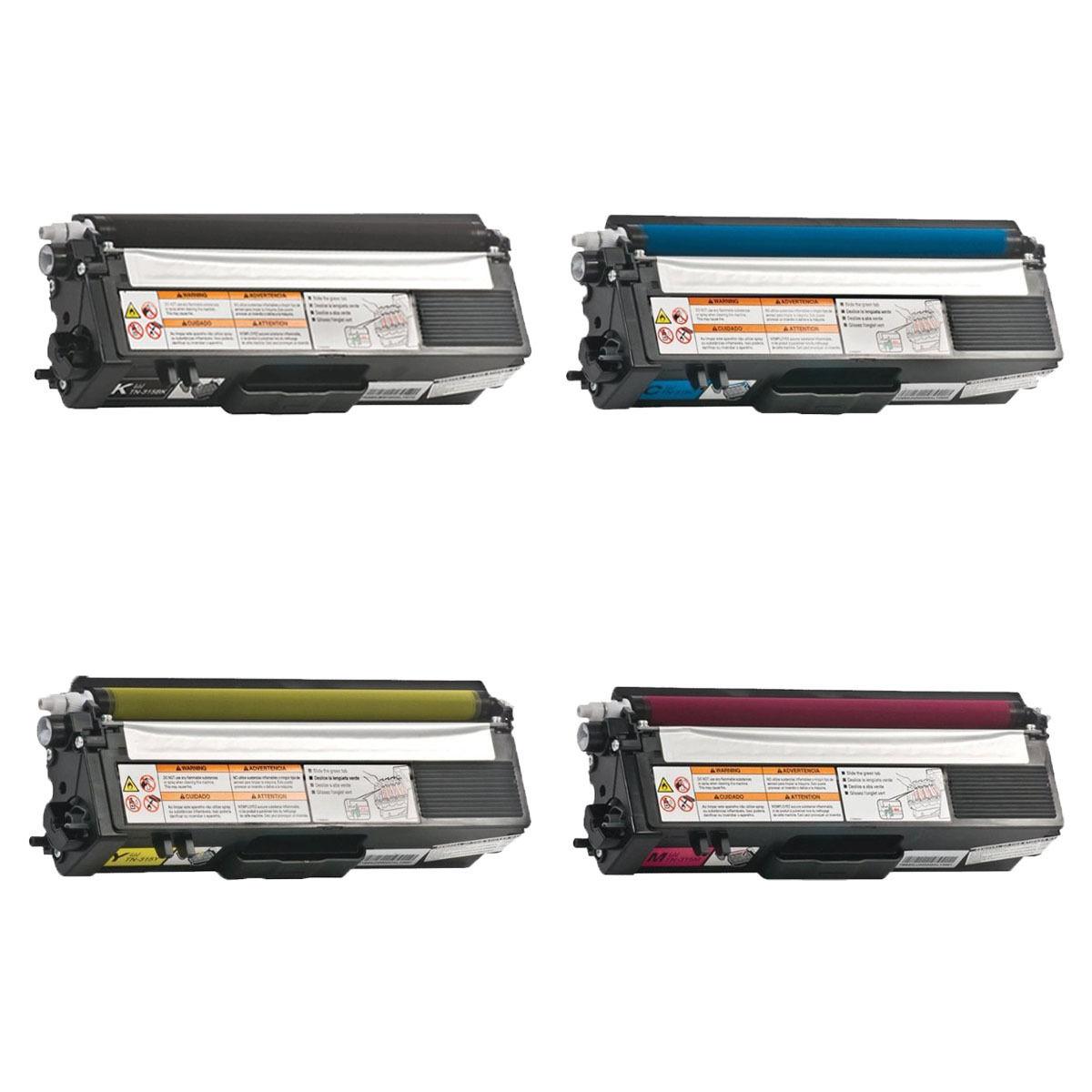 Details about 4PK TN315 Toner Set Compatible for Brother HL4150cdn  HL4570cdw MFC9460cdn 9560