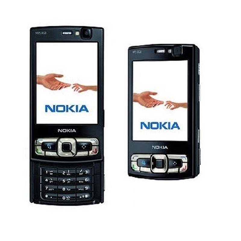 Mobile 8''screen 2 Phone 8gb N95 5mp Nokia Original Unlocked Gps Wifi Details About 3g Gsm