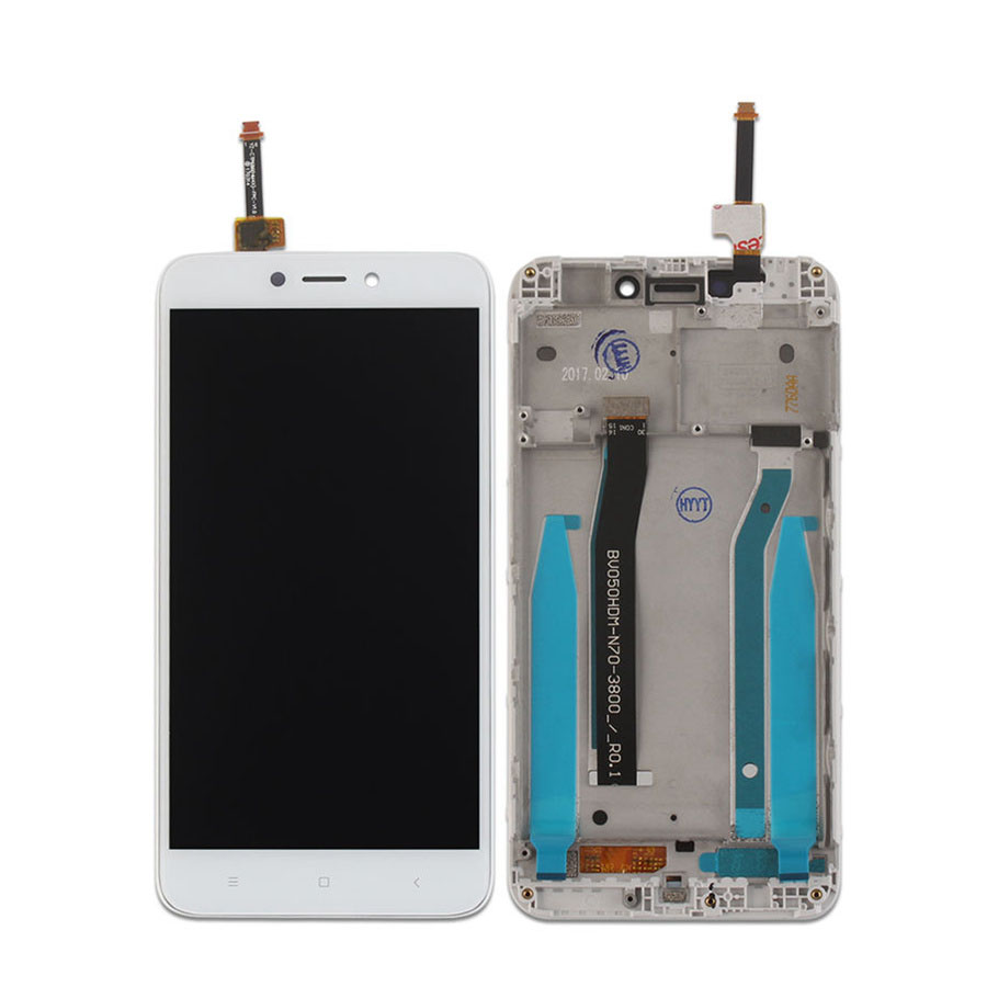 For Xiaomi Redmi Note 4 4x Pro Lcd Display Touch Screen Tempered Glass Full Color Mediatek Digitizer Frame