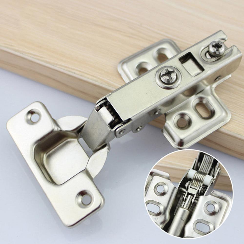 35mm full overlay flush soft close hydraulic hinge kitchen cupboard cabinet door ebay. Black Bedroom Furniture Sets. Home Design Ideas