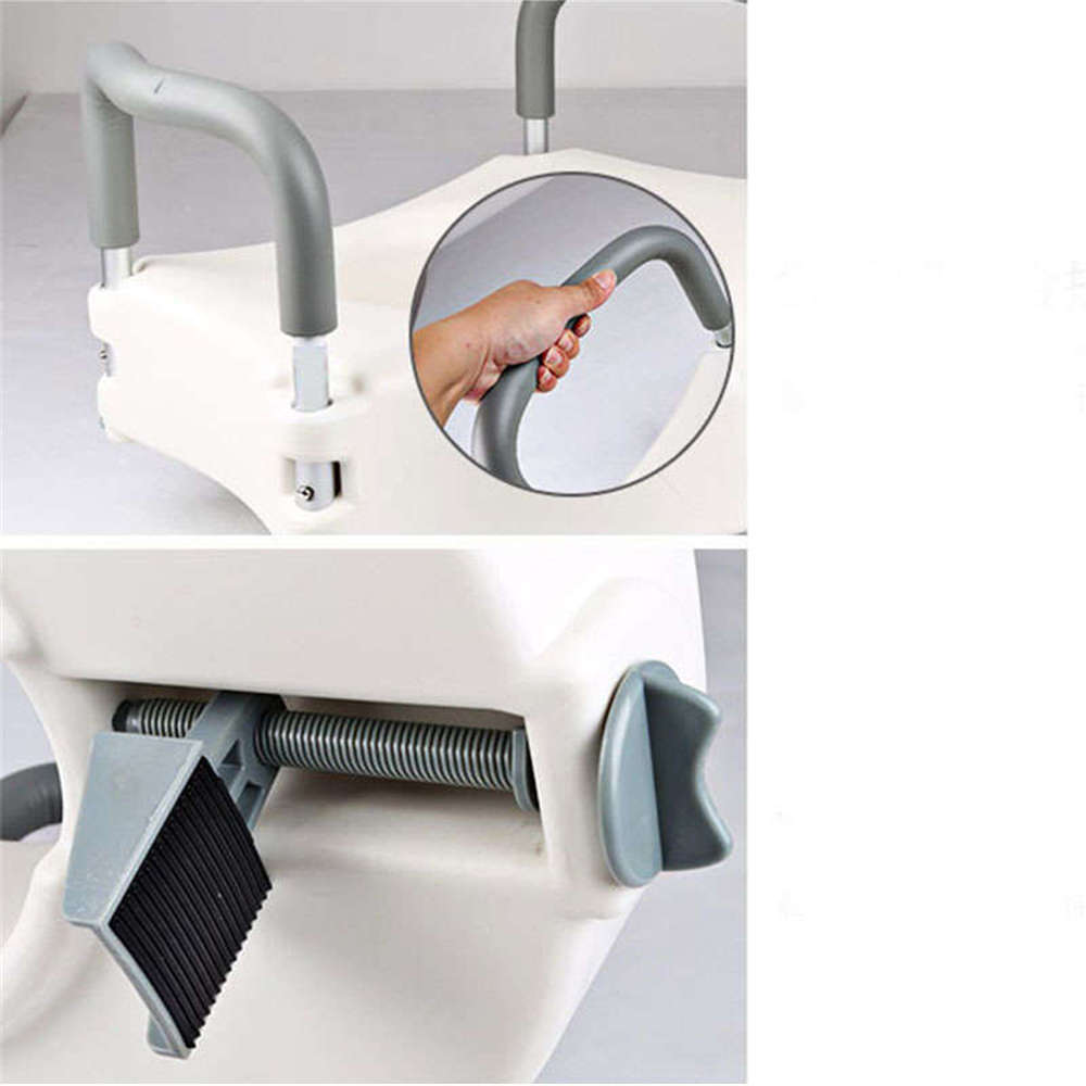 Portable Elevated Raised Toilet Seat 5 Quot Lift Riser Safety