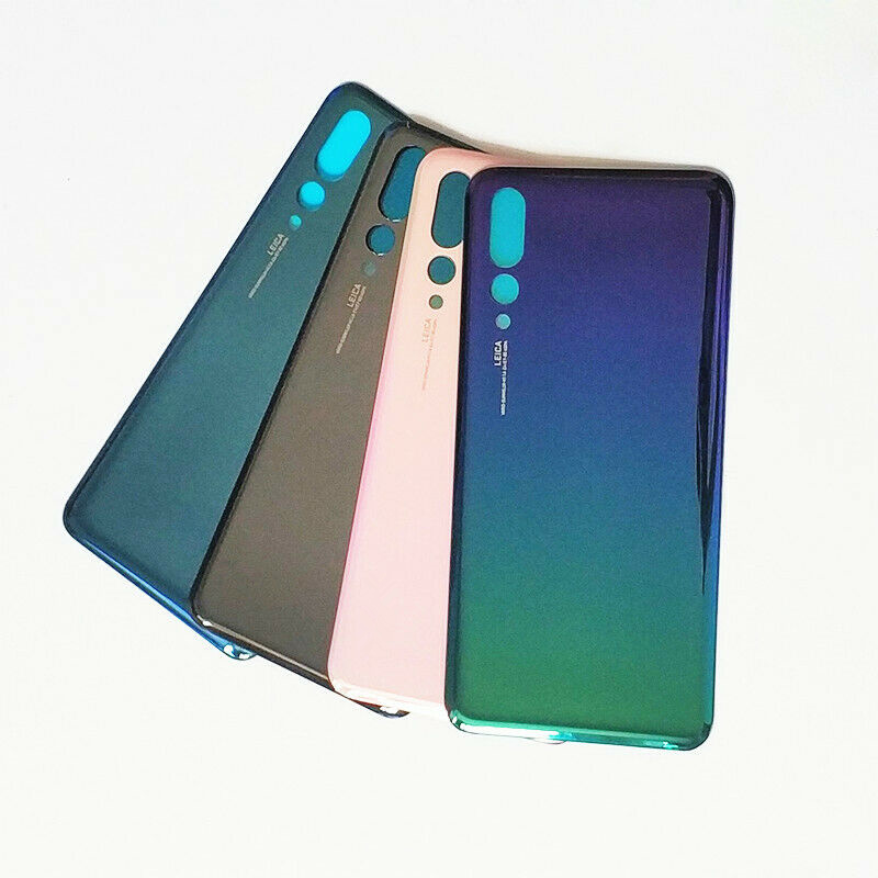 For Huawei P20 Pro Glass Battery Door Housing Rear Cover Back Case ...