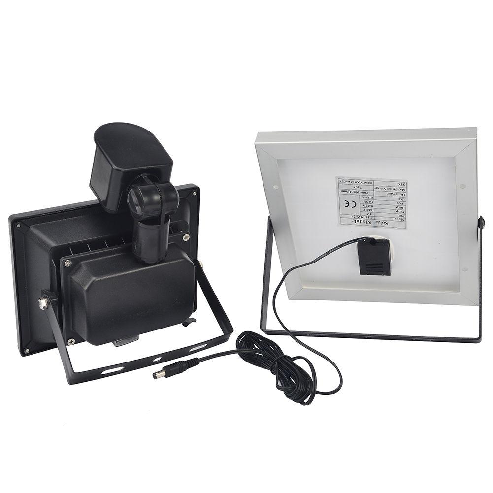 10w 20w solar led fluter mit bewegungsmelder und akku flutlicht au en strahler ebay. Black Bedroom Furniture Sets. Home Design Ideas