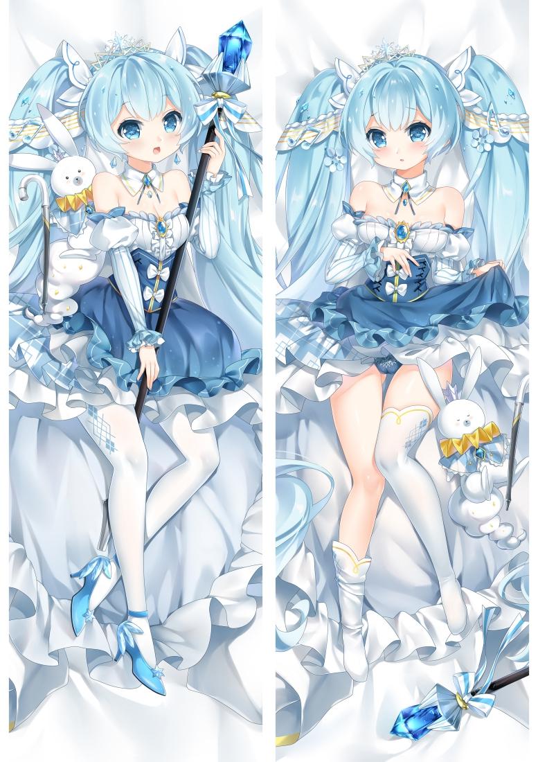 Hatsune Miku Snow Miku 2019 Promotional Poster