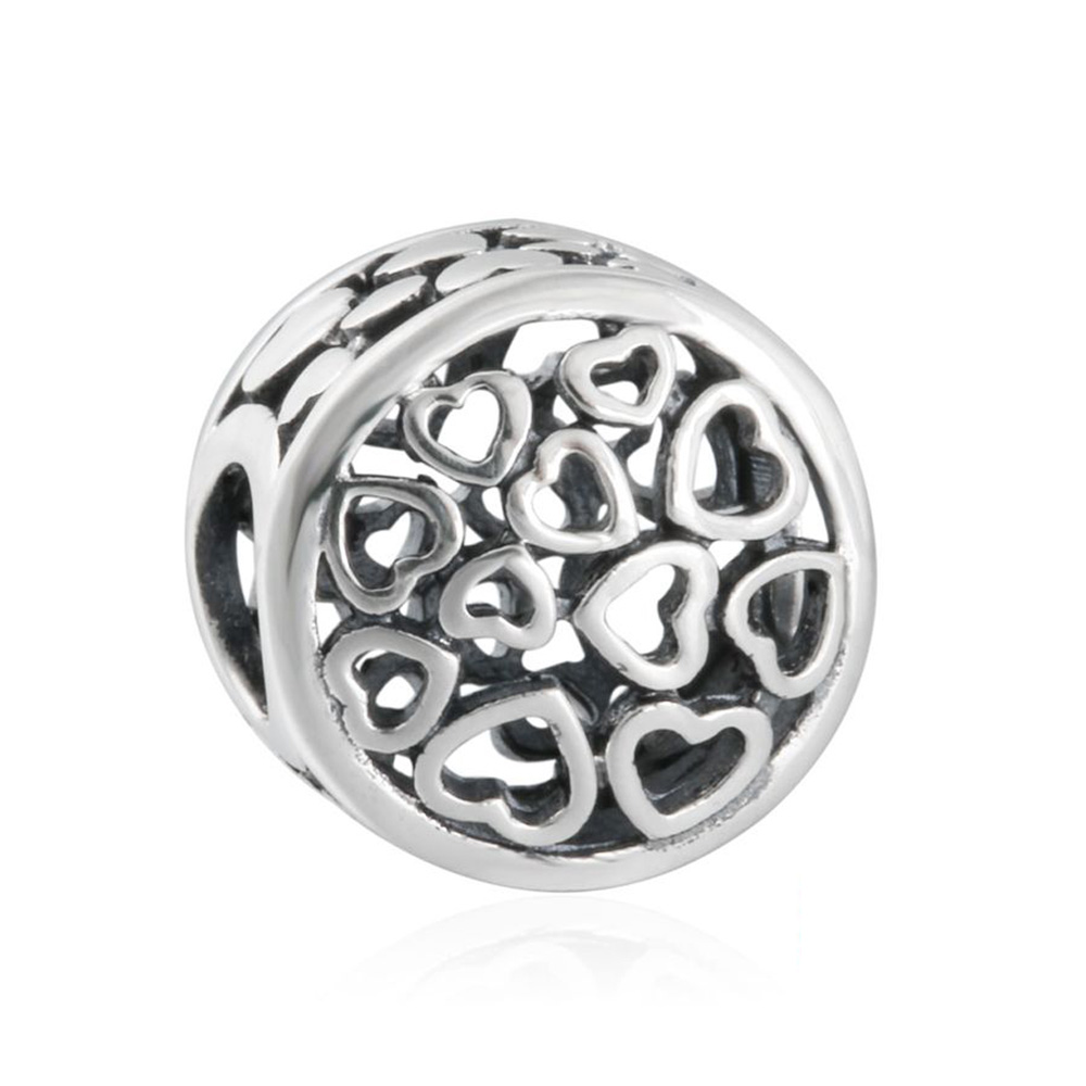 Vanzea Authentic Sterling Silver Loving Sentiments Charm Bead