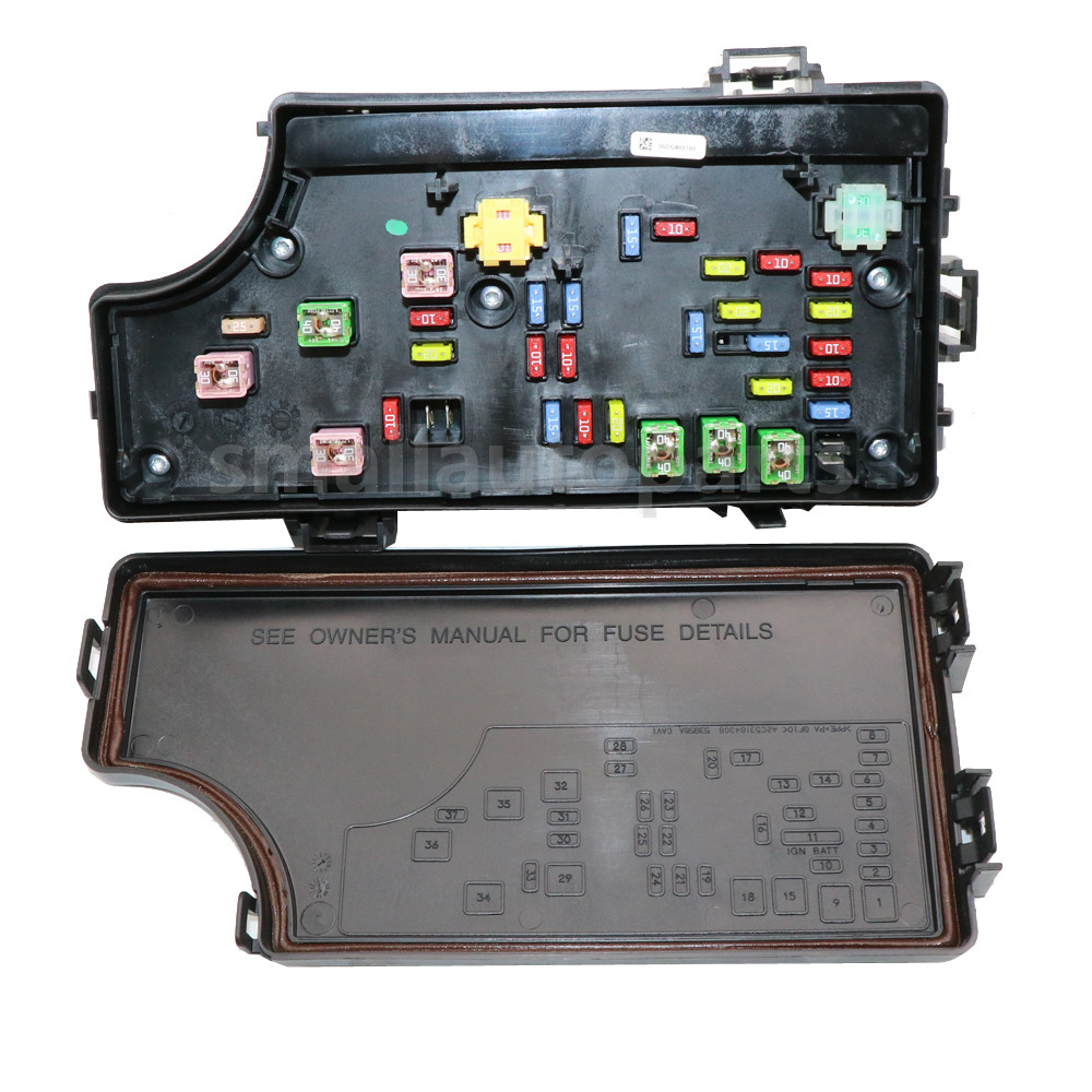 08-09 DODGE CALIBER PATRIOT TIPM TOTALLY INTEGRATED POWER FUSE BOX 68028007AD