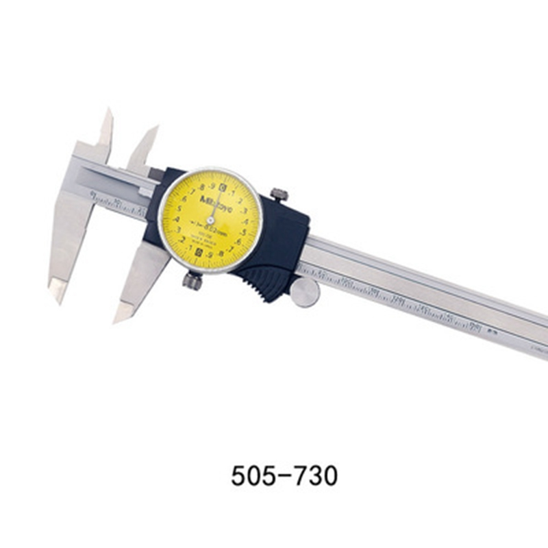 Brand New Mitutoyo 505-732   Dial Caliper 0-150mm X 0.01mm
