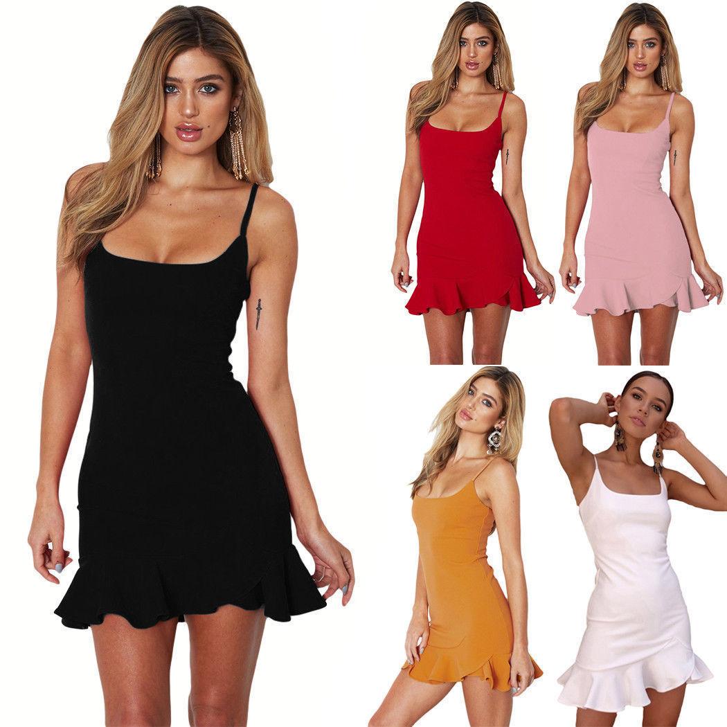Womens Ladies Strappy Beach Striped Ribbed Mini Short Bodycon Dress Size 6-12 UK
