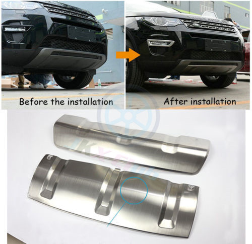 Metal Trunk Guard Skid Plate For Land Rover Discovery Sport 2015~2017+