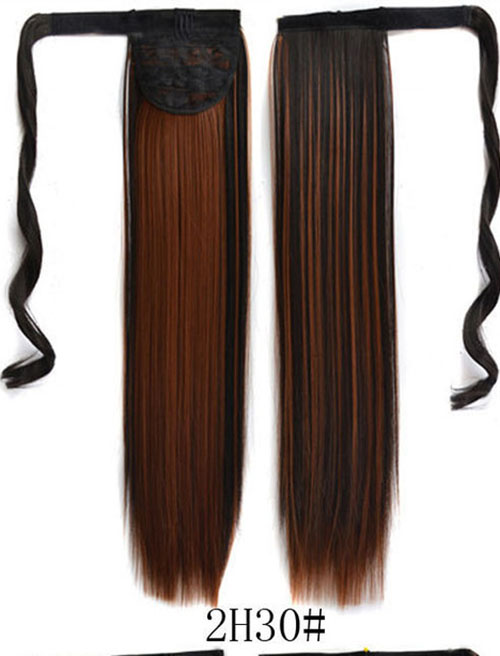 100 Real Thick Clip In Human Remy Hair Extensions Pony Tail Wrap On
