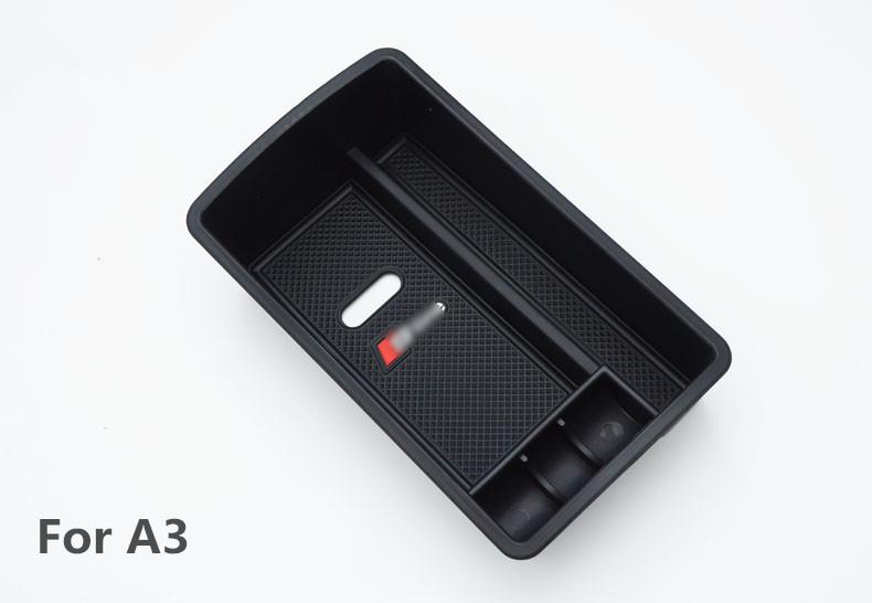 Voiture-Rangement-Boite-Armrest-Storage-Box-Organisateur-For-Audi-A3-A4-A5-Q3-Q5