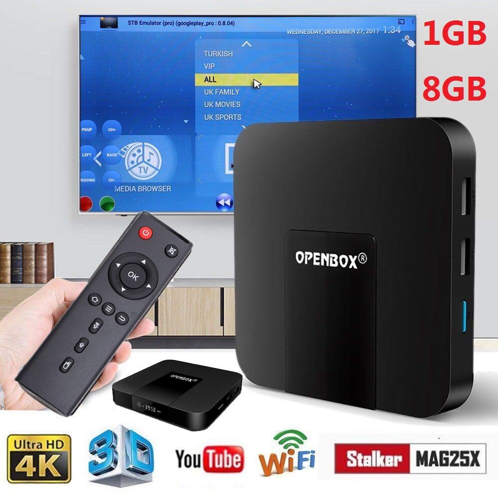 GENUINE OPENBOX VX Android 7 1 TV Box 1GB+8GB Amlogic S905W
