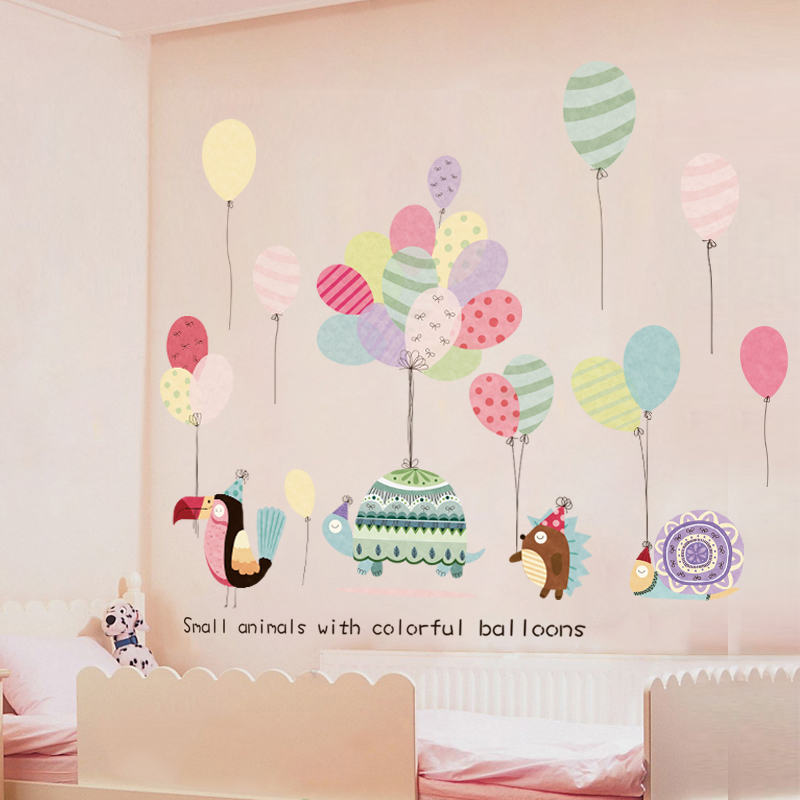 Colorful Balloons Wall Decals Wall Sticker Baby Nursery ...