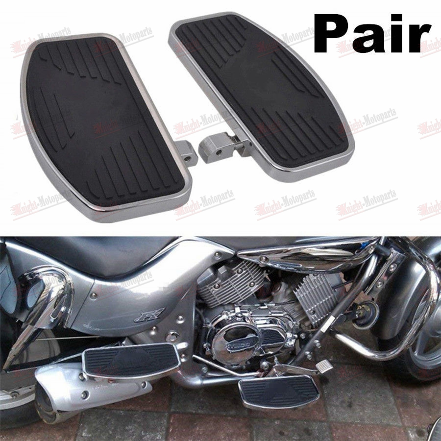 Chrome Rear Foot Pegs For Harley Dyna Wide Glide FXDWG//Low Rider Street Glide