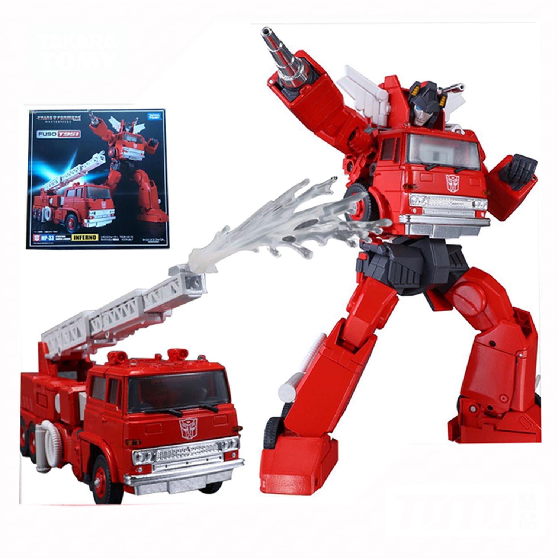 Transformers Inferno Takara MP-33 MP33 KO Action Figure 18cm Autobots In Stock