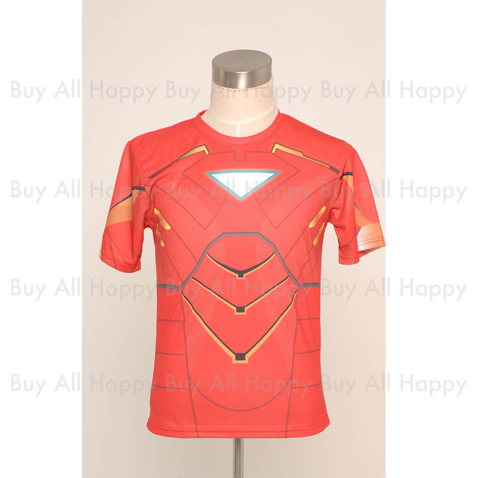 New Avengers Age of Ultron Vision Red General Printing Short Slim ...