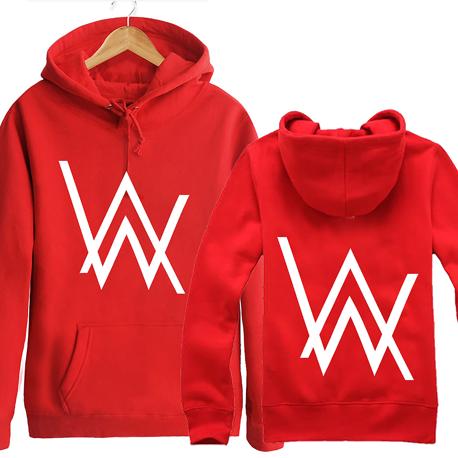 Alan Walker Music DJ Sweater Hoodie Hoody Zip Jacket