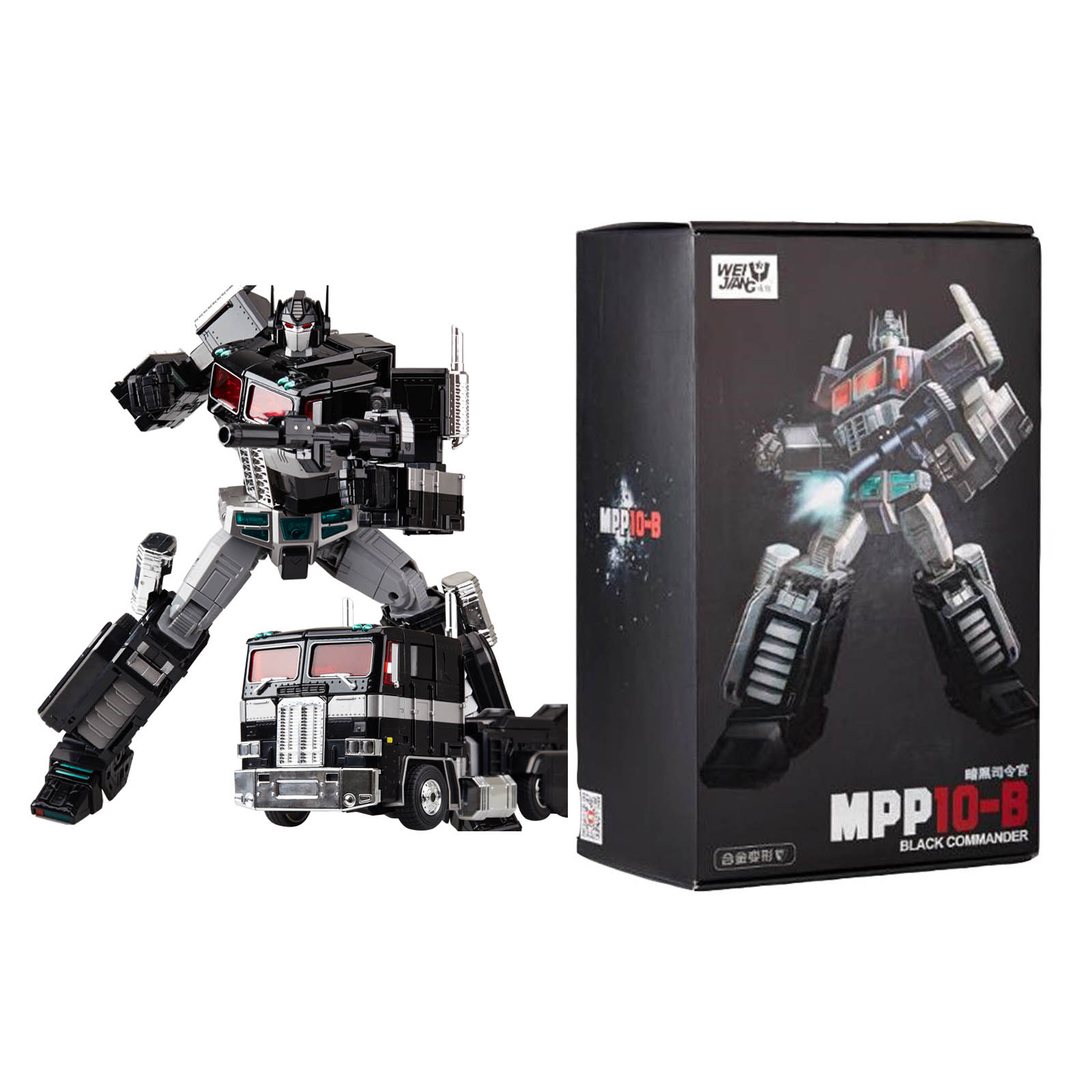 New Deformation toys version MPP10B dark version commander optimus prime toy