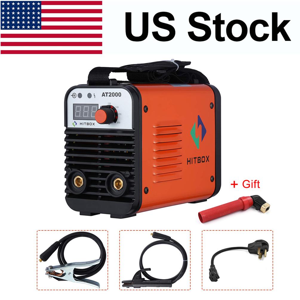 HITBOX AT2000 ARC Stick Welding Machine 110//220V Dual Volt Portable ARC Welder