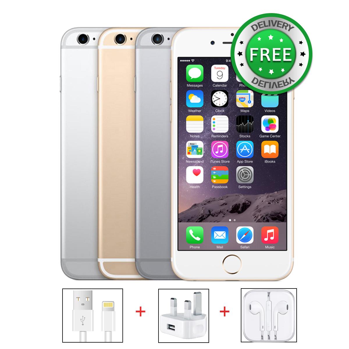 Unlocked Apple Iphone 6s 16gb 64gb 128gb Grey Gold Silver Sim Free Se Smartphone
