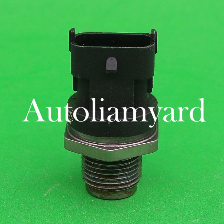 For GMC C4500 C5500 Savana 6.6L Duramax 2006-10 Fuel Rail High Pressure Sensor