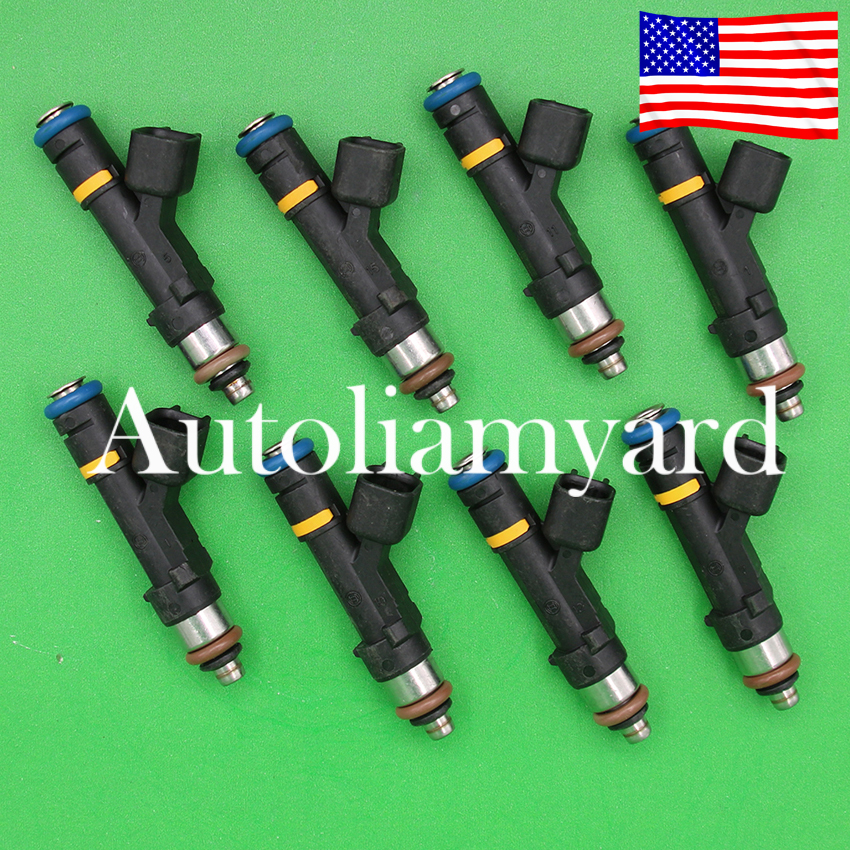 6x OEM 210lb 2200cc Fuel Injector For Bosch Honda Audi Mazda Dodge GM 0280158829