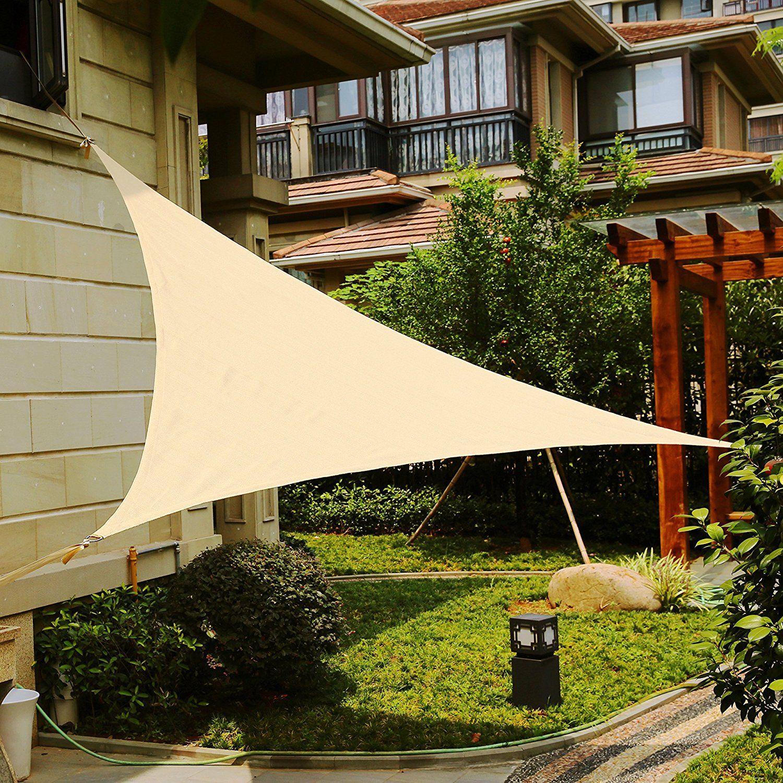 Sonnensegel Sonnenschutz Sonnendach Beschattung Terrasse Rechteck Quadrat